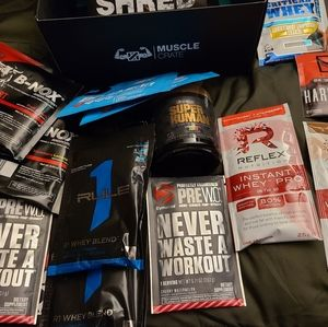 Muscle crate package variety of Muscle products